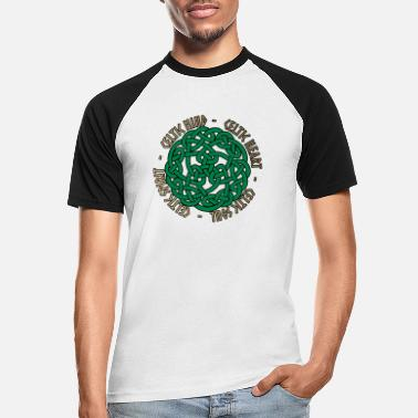 Celtic Celtic Heart - Celtic Soul - Celtic Spirit - Baseball T-skjorte for menn