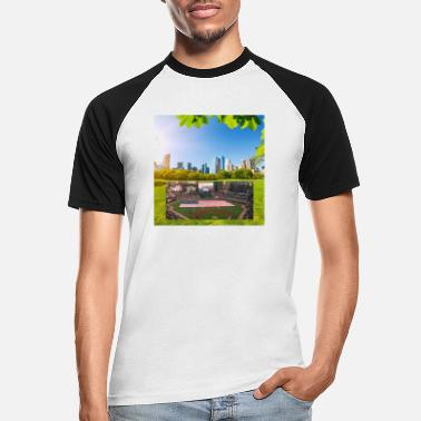 Central Park Central park NYC - Men's Baseball T-Shirt