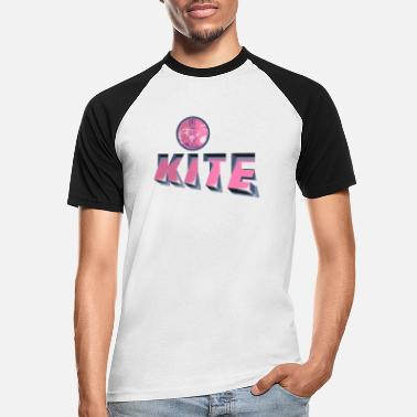 Kite Block - T-shirt baseball Homme