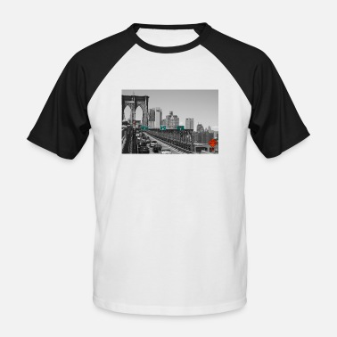 Brooklyn Bridge Brooklyn bridge - Men's Baseball T-Shirt