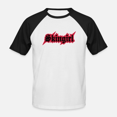 Skingirl 2 colors - Skingirl My Way of Life Skingirls - Miesten baseballpaita