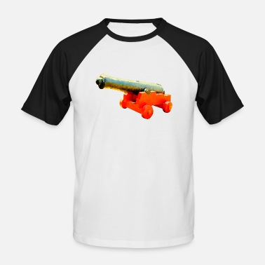 Cannon cannon - Men's Baseball T-Shirt