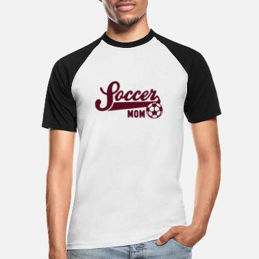 Soccer Mum Soccer MOM - Men's Baseball T-Shirt