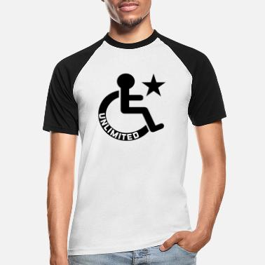 Disability disability - Men's Baseball T-Shirt