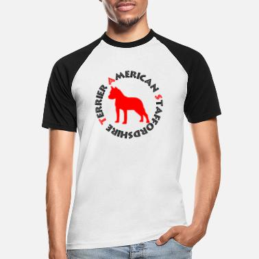 Red Sox Amstaff Red - T-shirt baseball Homme