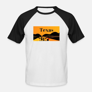 Texas Texas - Men's Baseball T-Shirt