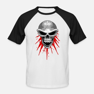 St23 st23 skull - Men's Baseball T-Shirt