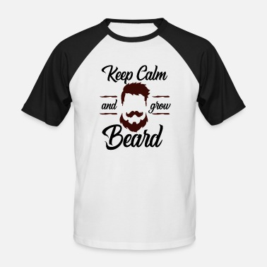 Bartosz Beard wax Bartosz gift sayings gag beard - Men's Baseball T-Shirt