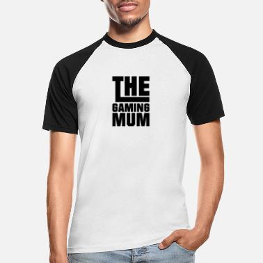 Spille Gaming Mum - Gaming - Baseball T-skjorte for menn