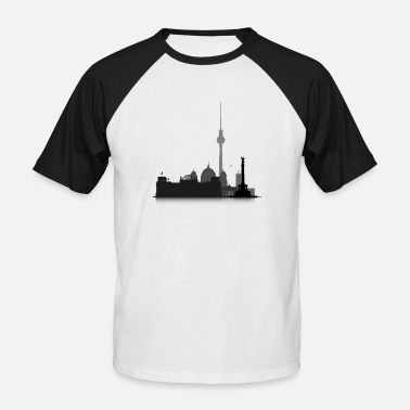 Cityscape Cityscape Berlin - Men's Baseball T-Shirt