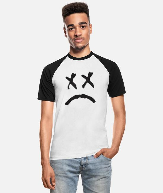 Xx T-Shirts - xx - Men's Baseball T-Shirt white/black