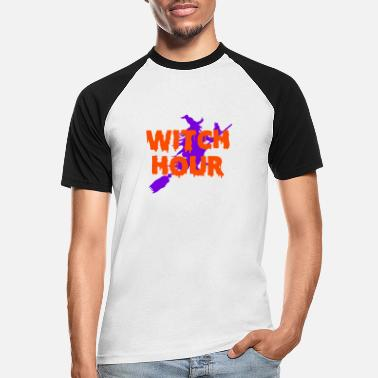 Witching Hour Witch Hour - Men's Baseball T-Shirt
