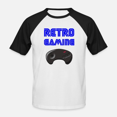 Retrogaming RETROGAMING - Baseball T-shirt mænd