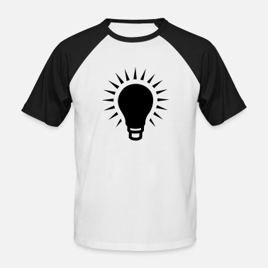Light Bulb light bulb - Men's Baseball T-Shirt