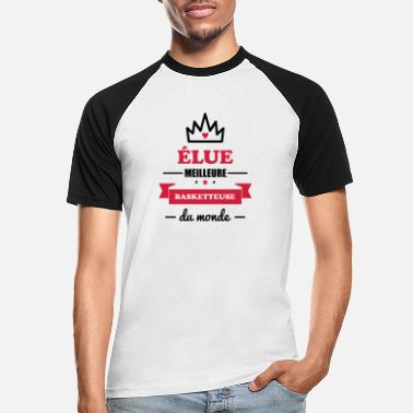 Basket MEILLEURE BASKETTEUSE ,basketball,basket - T-shirt baseball Homme