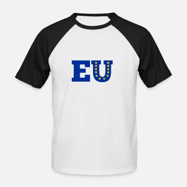 Europeiske Union Europeiske union - Baseball T-skjorte for menn