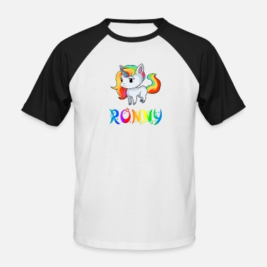 Ronny Unicorn Ronny - Men's Baseball T-Shirt