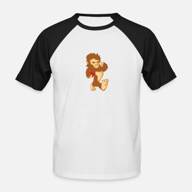 Big Foot Cadeau de chimpanzé Big Foot Big Foot - T-shirt baseball Homme