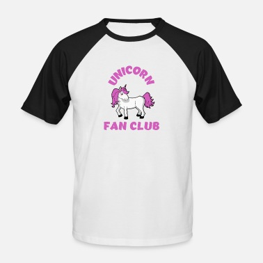 Club Unicorn Fan Club - Men's Baseball T-Shirt