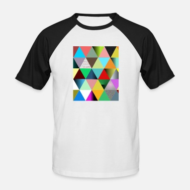triangles - T-shirt baseball Homme