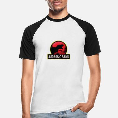 Park Jurassic Bank Bankster - Men's Baseball T-Shirt