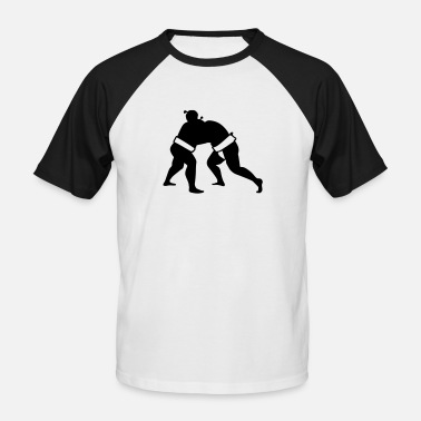 Sumo Sumo - Men's Baseball T-Shirt
