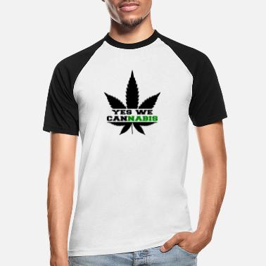 Yes We Cannabis Yes we cannabis - Men's Baseball T-Shirt