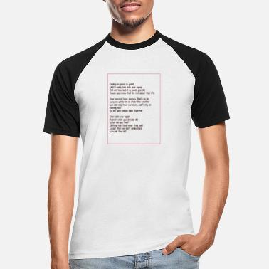Inconnu inconnu - T-shirt baseball Homme