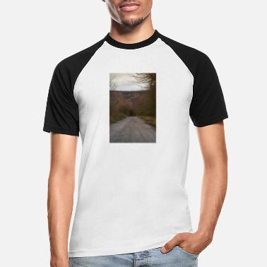 Over The Hill Path over the hills - Men's Baseball T-Shirt