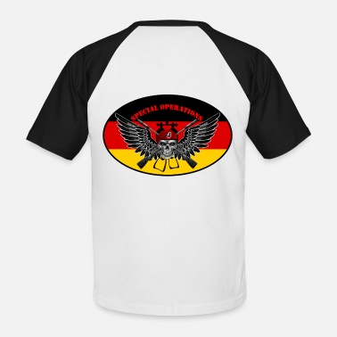 Special Forces germany_spops - Männer Baseball T-Shirt