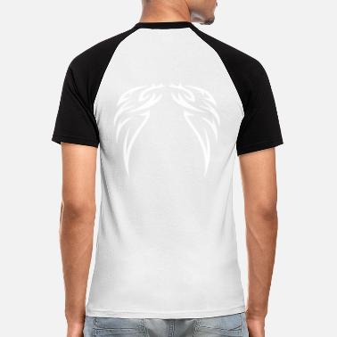 Wings tattoo wings - Men's Baseball T-Shirt