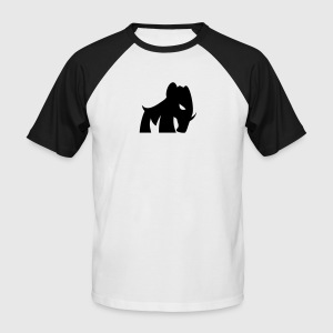 little mammoth - Men's Baseball T-Shirt