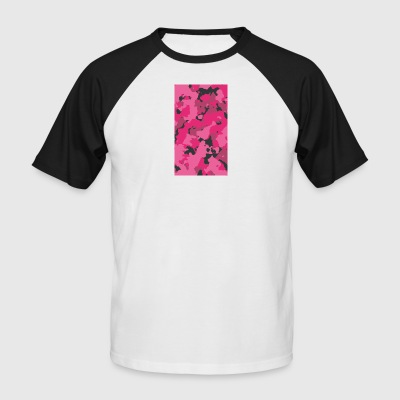Pink Camo - Men's Baseball T-Shirt