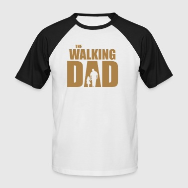 The Walking Dad - Kortermet baseball skjorte for menn