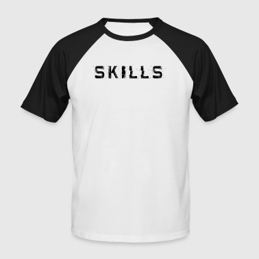 Skills cloth - Men's Baseball T-Shirt