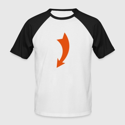 2541614 11124371 arrow - Men's Baseball T-Shirt