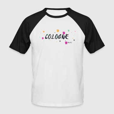 Cologne 2 - T-shirt baseball manches courtes Homme