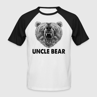 Cool Uncle Bear Wild Grizzly Bear Regalos para tío - Camiseta béisbol manga corta hombre