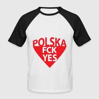 Polska - Men's Baseball T-Shirt