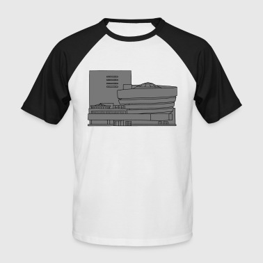 Guggenheim Museum New York 2 - Men's Baseball T-Shirt