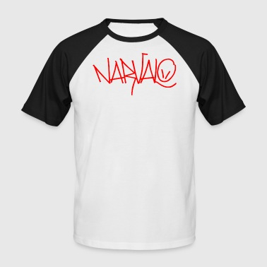 Narvalo red - Men's Baseball T-Shirt