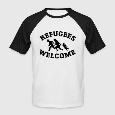 Refugees Welcome - T-shirt baseball manches courtes Homme