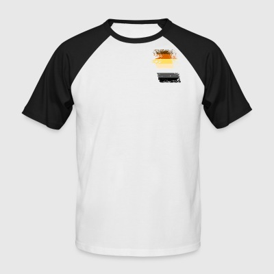 Bear flag ripped - Men's Baseball T-Shirt