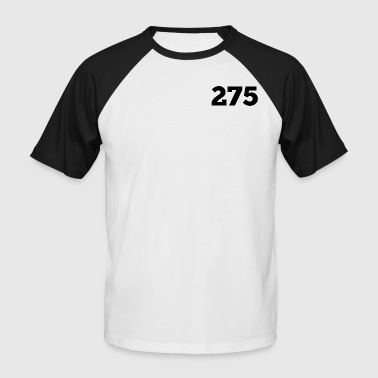 275 - T-shirt baseball manches courtes Homme