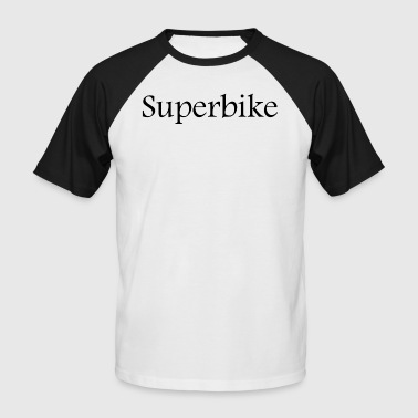 Superbike - T-shirt baseball manches courtes Homme