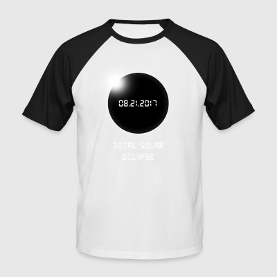 Solar Eclipse - Men's Baseball T-Shirt