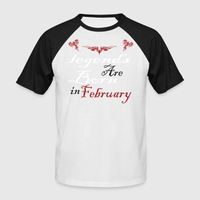 February - Men's Baseball T-Shirt