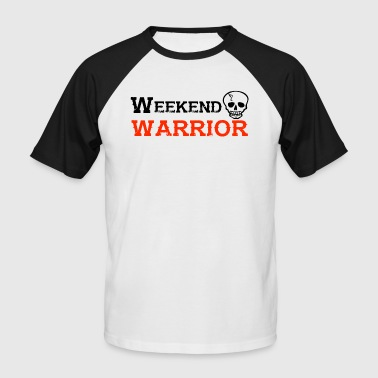 Shirt Weekend Warrior Weekend Party - T-shirt baseball manches courtes Homme