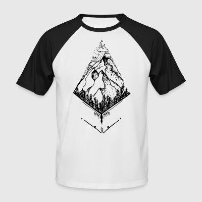Sky High Mountain - T-shirt baseball manches courtes Homme