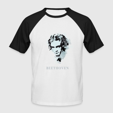 Beethoven Portrait - T-shirt baseball manches courtes Homme